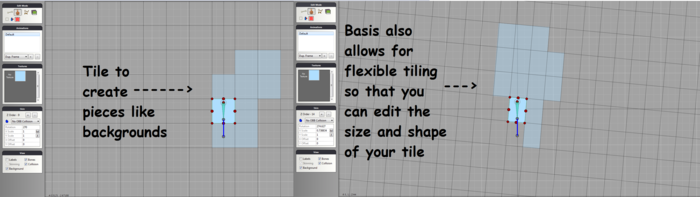Tiling example