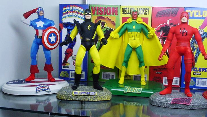 Charlee Flatt's incredible MEGO like action figures