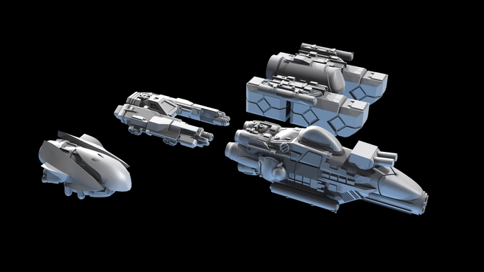 Two Tier 1 ships, Two Tier 2 ships (rough draft)