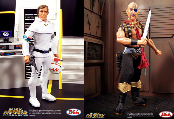 ZICA toys 1/9th scale  Buck Rogers