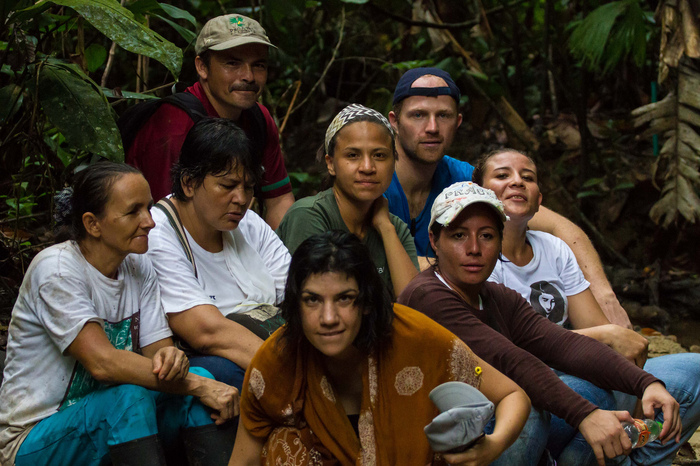 Tagua nut hunters in rural Colombia collect our beans and nuts
