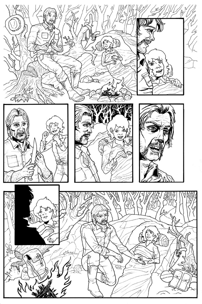 Preview of Page 9 before color