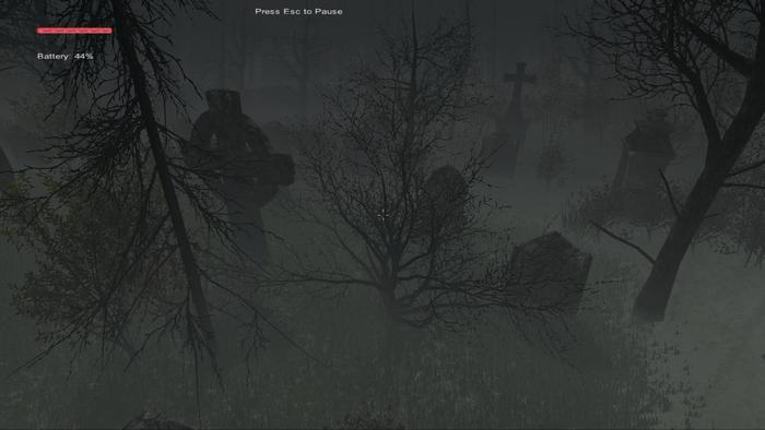 Graveyard and Church - #8