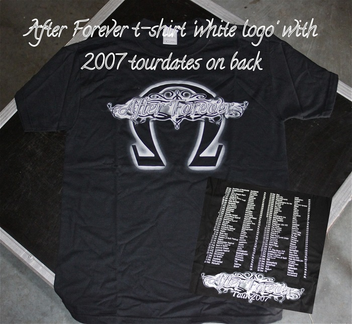 After Forever shirt with 2007 tourdates on back.