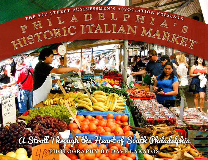 Italian Market Photo Book Cover