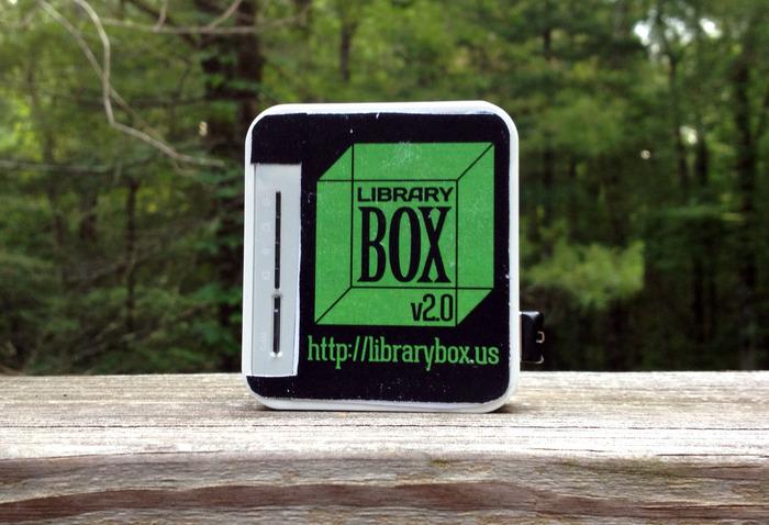 Limited Edition Kickstarter LibraryBox v2.0