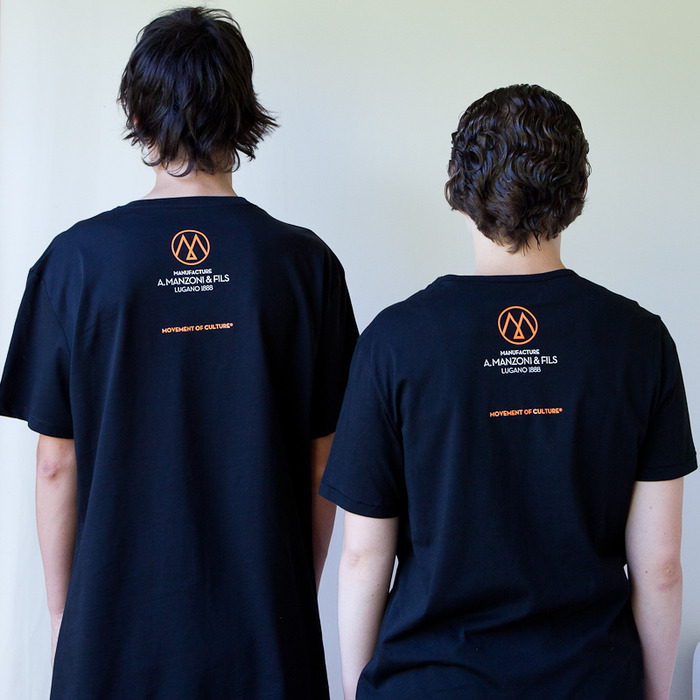 T shirts from the backside