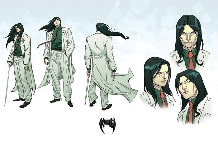 Fang character design