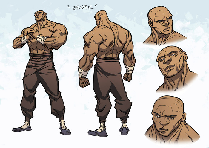 The Brute character design