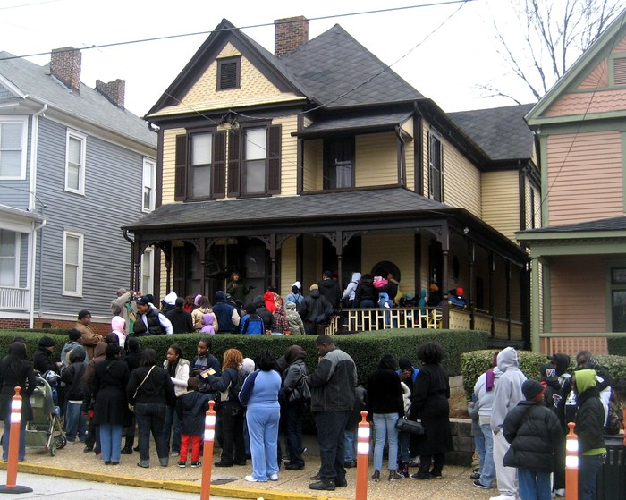 Martin Luther King Jr. birthplace, four homes down