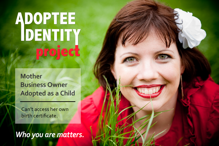 An image from the Adoptee Identity Project, which will be unveiled on Gazillion Voices.