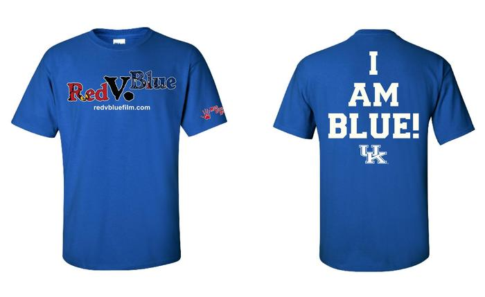 "Official ""I AM BLUE"" Film T-Shirt"