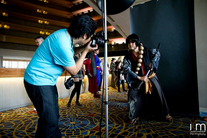 My photo booth set-up @ DragonCon 2011  (photo : iM Photography  )