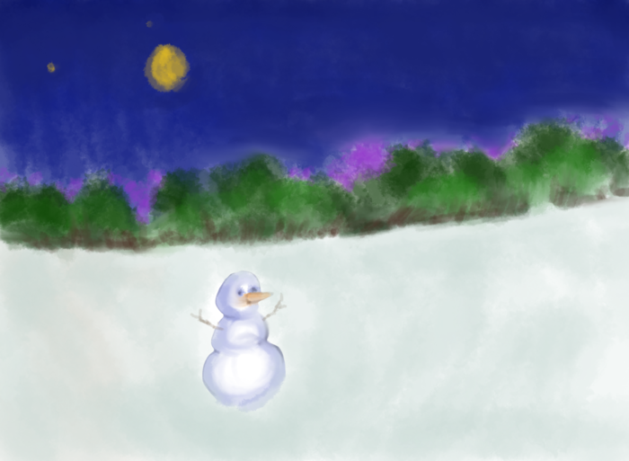 A drawing by Claire to help get you in the holiday spirit