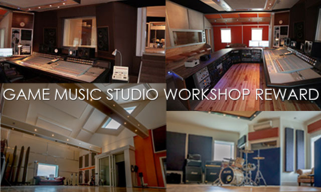 "Join Rik at ""The Chairworks"" recording studio for a game music masterclass!"