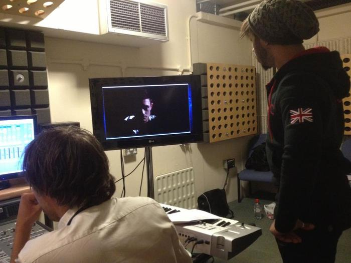 ADR Session 2 - Ealing Film Studios - Paul Prepping for his session