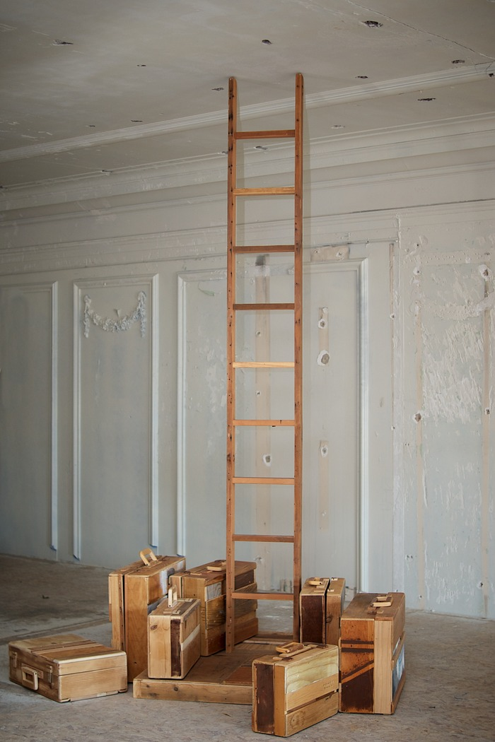 ladders and luggage