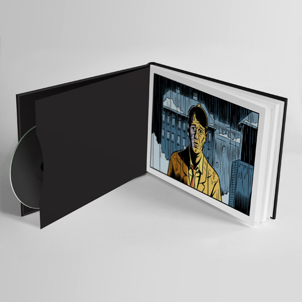 Inner Book + DVD sleeve