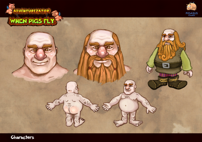 Concept Art - Dwarves