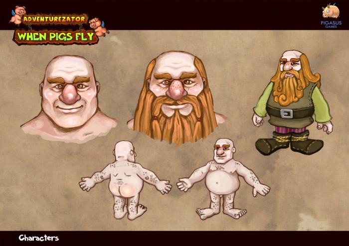 Concept Art - Dwarves