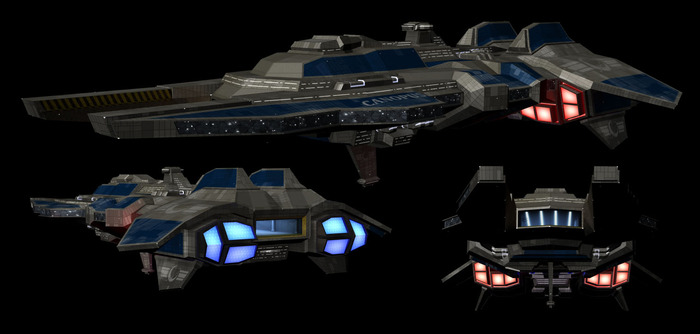 The United Earth Alliance Strike Carrier Canopus