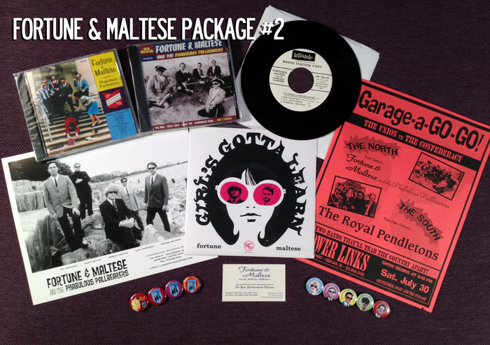 Fortune and Maltese Package #2: So much cool swag!