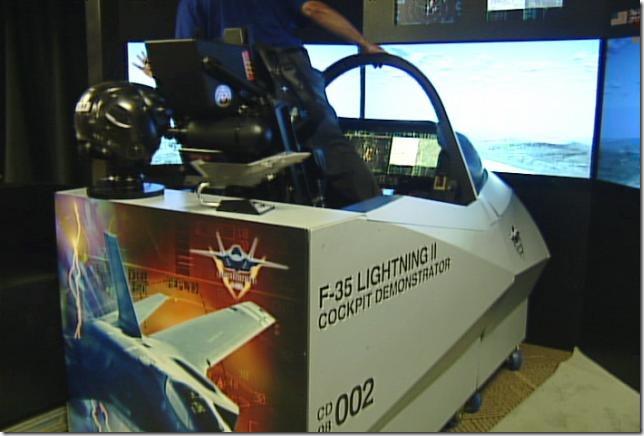 F-35 DEMONSTRATOR COCKPIT