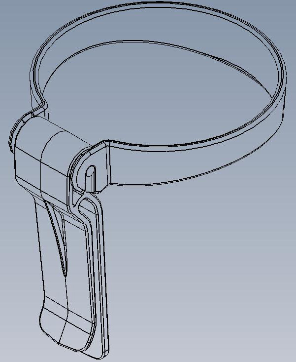 Original CAD file of the cup holder.