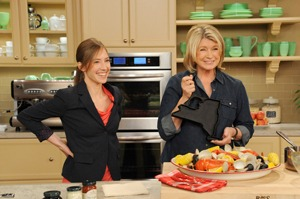 Alisa's visit with Martha Stewart.