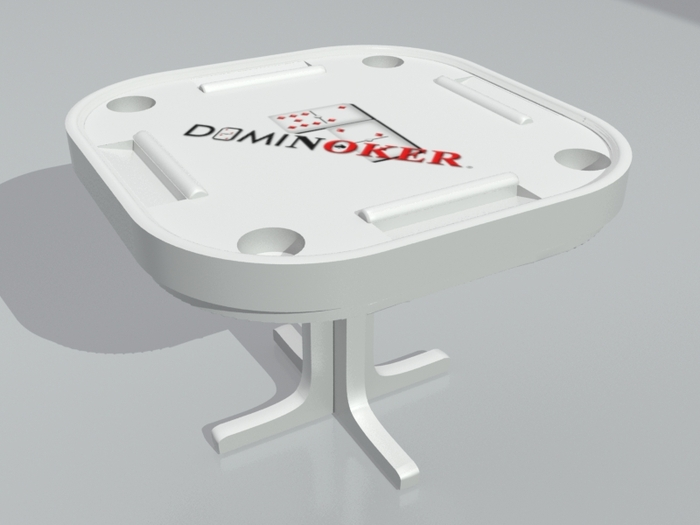 Rotating Dominoker Table