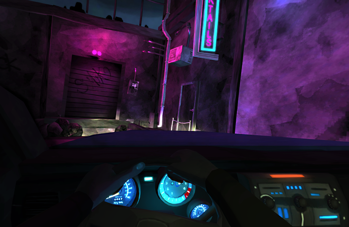 In-Game Screenshot - Arriving at Scene