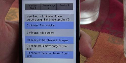 BBiQ™ App: Grilling Multiple Items