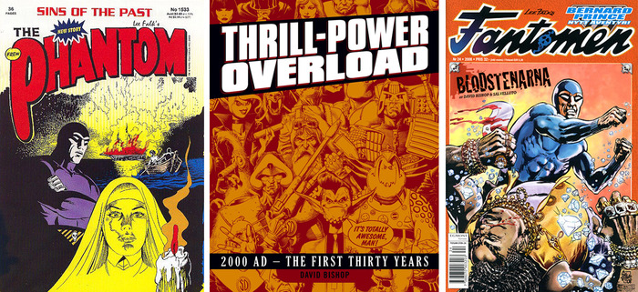 An additional six-page story by legendary 2000AD and Judge Dredd editor, and writer of various comics including The Phantom.