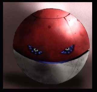 Voltorb (a product of human AI technology)