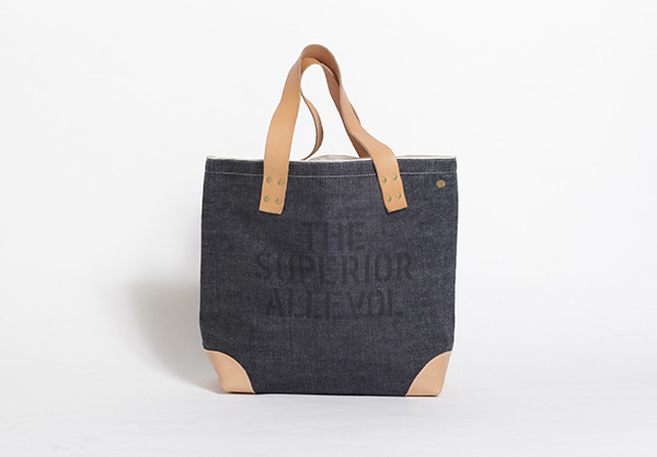 The Superior Labor denim tote bag