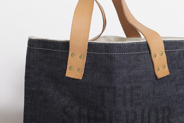 We are using Japanese selvedge fabric!