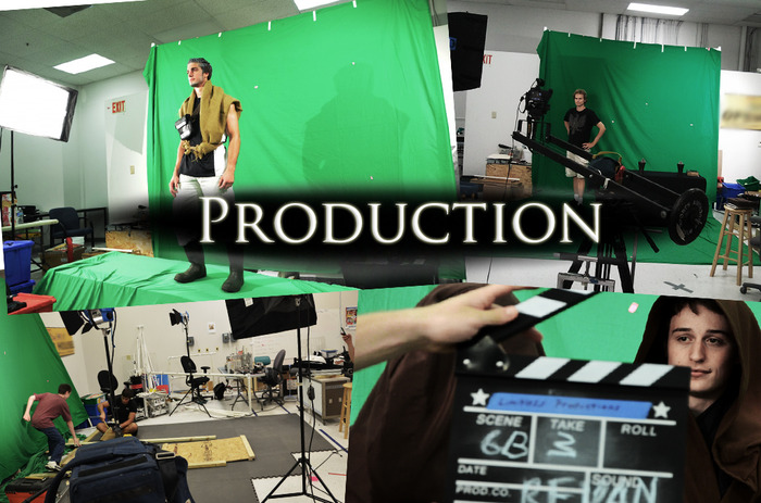 PRODUCTION: On set (Click on the image for more from our site!)