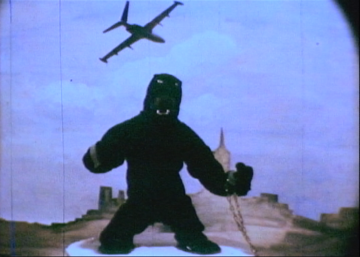 "Still from ""King Kong Climbs the Statue of Liberty"" by Tjardus Greidanus, age 12, Harderwijk, The Netherlands"