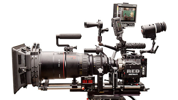 We're using the same exact cameras that were used on The Hobbit, Pacific Rim and Star Trek