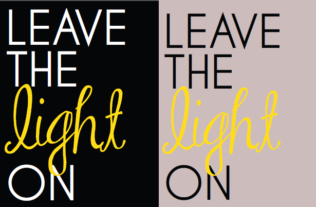"""Leave the Light On"" Tanks"