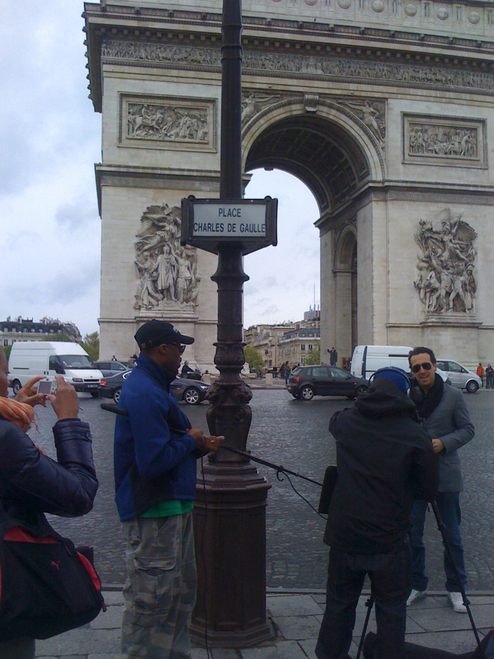 On location: Paris, France