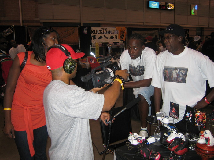 On location: International Sneaker Battle