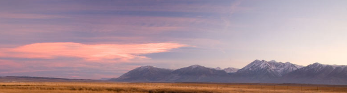 Eastern Sierra Mountain Range