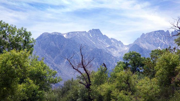 Eastern Sierra peaks