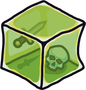 Crypt Run gelatinous cube