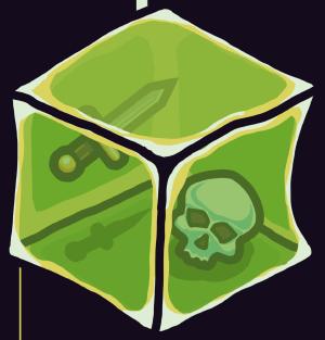 Crypt Run gelatinous cube