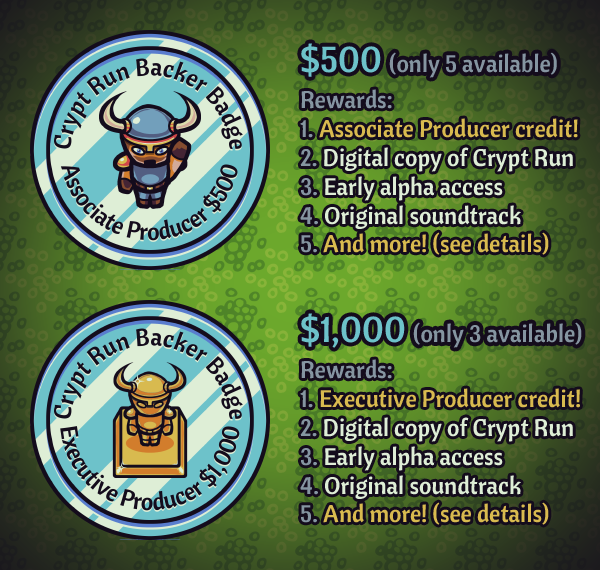 Crypt Run PLATINUM rewards!