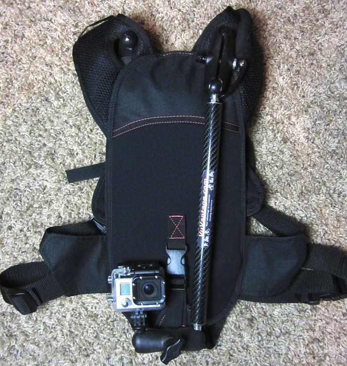VuPack + VuPackPole + Hydration Bladder