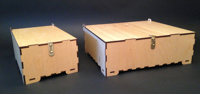 Small Box and Large Box, Side-by-Side.