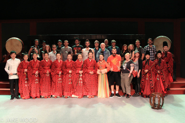 MarchFourth and the Hua Xia Ancient Music Arts Orchestra of Henan Museum, in Zhengzhou